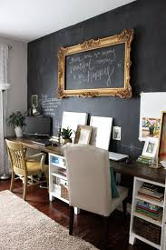 chalk wall 20 clever and cool basement wall ideas httphative bright basement work space decorating