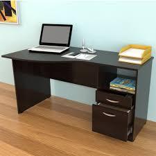 curved office desks. Inval America Curved Top Desk In Espresso Office Desks