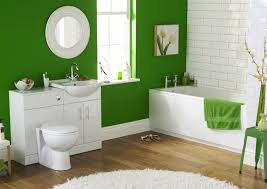 guest bathroom decor ideas with bright color decolover net