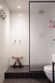 black picture frames. The Black Frame Around Frosted Glass Door Of This Shower Adds A Simple Sophistication To Space And Ties Together Other Elements In Picture Frames