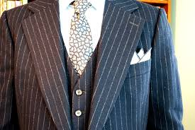 the opportunity arrived with a 3 piece flannel suit from kingpin s hideaway unlike most vintage clothes it fit me extremely well the waist was perfect