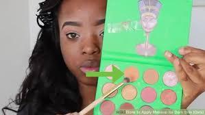 image led apply makeup for dark skin s step 11