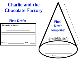 charlie and the chocolate factory lesson plans author roald dahl character wheel projects charlie and the chocolate factory first draft worksheets