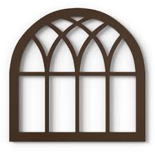 This wall décor presents a farmhouse twist on the windowpane wall decor trend. Amazon Com Barnyard Designs Rustic Wood Cathedral Arch Window Frame Decorative Arched Window Pane Wall Art Vintage Farmhouse Country Decor Dark Brown 30 X 30 Everything Else
