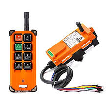 DOMINTY DC12V Transmitter&Receiver <b>Hoist Crane Radio</b> ...