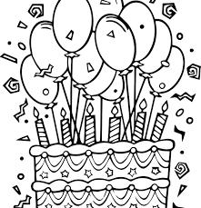 Balloons Coloring Sheet Proteussheet Co