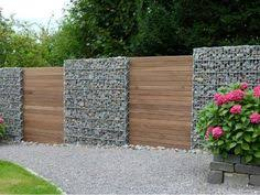 Small Picture gabion wall design ideas garden fence ideas privacy fence design