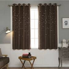 modern window curtain living room 3d hollow star pattern window treatments solid curtains for bedroom single panel color of 4 in curtains from home