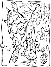Small Picture Printable Coloring Pages Under The Sea Coloring Pages