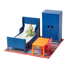 ikea miniature furniture.  Miniature HUSET Doll Furniture Bedroom And Ikea Miniature Furniture E