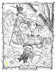 A Nightmare Before Christmas Coloring Pages Zabelyesayancom