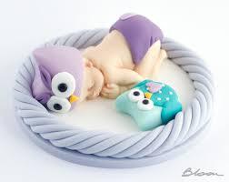Owl Baby Shower Cake  Owl Cake  Desertcakessweets  Pinterest Baby Shower Owl Cake Toppers
