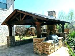 covered outdoor kitchen design ideas fine roof marvelous about plans photos cost ide