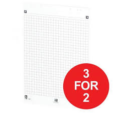 Oxford A1 Smart Flip Chart Square 600 X 800mm White Offer 3 For 2 Jan Dec 2017 400059715 Xx206
