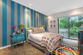 Striped Bedroom Paint Teen Room Paint Ideas Home Design Ideas