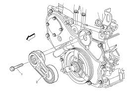 Repair instructions on vehicle drive belt tensioner replacement rh repairprocedures 2000 buick regal serpentine belt diagram 2011 buick regal serpentine