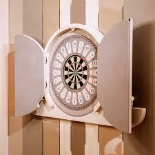 Designer Darts Luxury Italian Argo Dart Board Cabinet Italian Designer