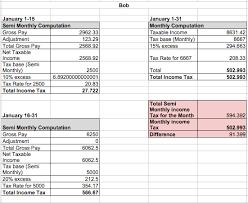 Bir Tax Chart How Payrollhero Computes The Philippine Bir Tax Deduction