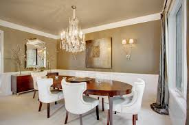 metal dining room chairs chrome: traditional dining chairs dining room mediterranean with exposed brick farm table