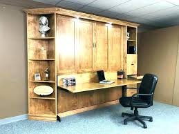 office with murphy bed. Bed Office Combo Wall Home Contemporary With Desk Murphy