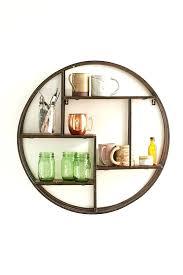 half circle wall shelf round wall shelves home design small round wall shelves sedentary circle shelf