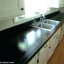 rust oleum countertop refinishing impressive paint kitchen nate how to make look like wood painting over