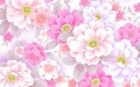 Pink Wallpaper For Bedrooms Flower Design Wallpaper Flowers Ideas