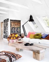 Attic Living Room Decoration Ideas