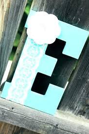 decorative wooden letters letter e baby boy nursery decor aqua name big l wonderful decorative wooden letters