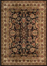 home dynamix royalty 8079 450 black mc rug traditional area rugs by plushrugs