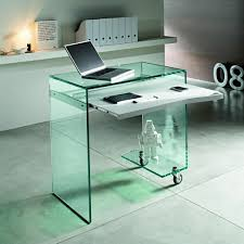 Small Glass Top Desk Cool Modern Office Desks For Small Spaces In Glass  Computer Desks For Small Spaces