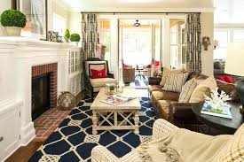 nautical area rugs with beach style living room and collected coastal cottage whitewashed wood coffee table