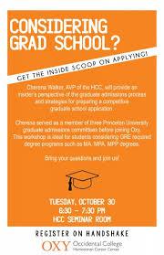 Considering Grad School Prepare A Competitive Graduate School Application Oct 30