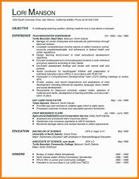 13 Teacher Objective In Resume Phoenix Officeaz