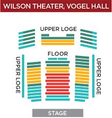 Uihlein Hall Seating Chart Milwaukee Wi Cogent Milwaukee Performing Arts Center Seating Chart Mile 1