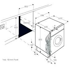 standard washer dryer size front load washer and dryer dimensions width of washer and dryer closet