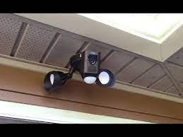 ring floodlight cam hack mounting