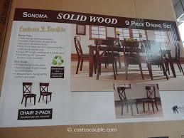 heritage brands furniture dining set big. Dining Chairs Costco. Heritage Brands Sonoma 9 Furniture Set Big