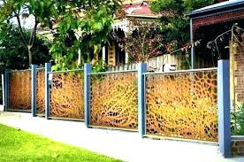 corrugated metal fence. Perfect Fence Corrugated Metal Fence Panels Attractive Fences Throughout 11  In Y