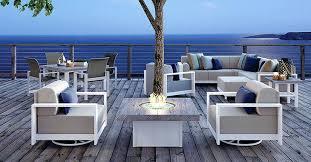aluminum outdoor furniture modern patio chair