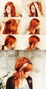 Mettre Un Headband Sur Cheveux Détachés