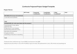 Project Budget Plan Template Choice Image - Template Design Ideas