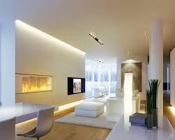 Ultra Modern Living Room Lighting Ideas With Ceiling Lights On Light