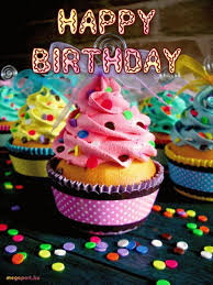 animated birthday cupcakes. Fine Animated Happy Birthday Cupcakes Animated Gif Ecards Gif  Video Message On H