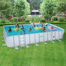rectangle above ground pools pool supplies the home within dimensions 1000 x pool financing bad credit a27