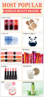 yesstyle top 10 most por korean beauty brands