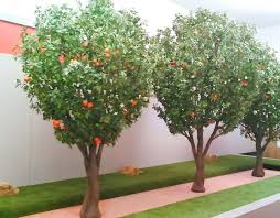 fake orange tree faux lemon tree