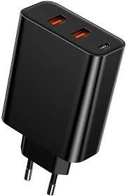 Сетевое <b>зарядное устройство Baseus PPS</b> three output quick ...