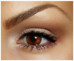 natural makeup look for brown eyes ideas