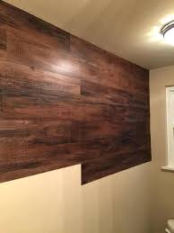 wood wall covering ideas faux bathroom decor inexpensive